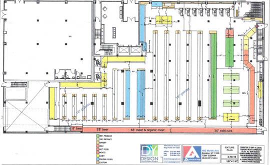 Associated Supermarket Shares New Floor Plan Myrtle