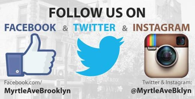 ce407daa297 Are you following us on Twitter and Instagram  Do you like us on Facebook   We d love to connect with you to share the latest Myrtle Avenue and other  local ...