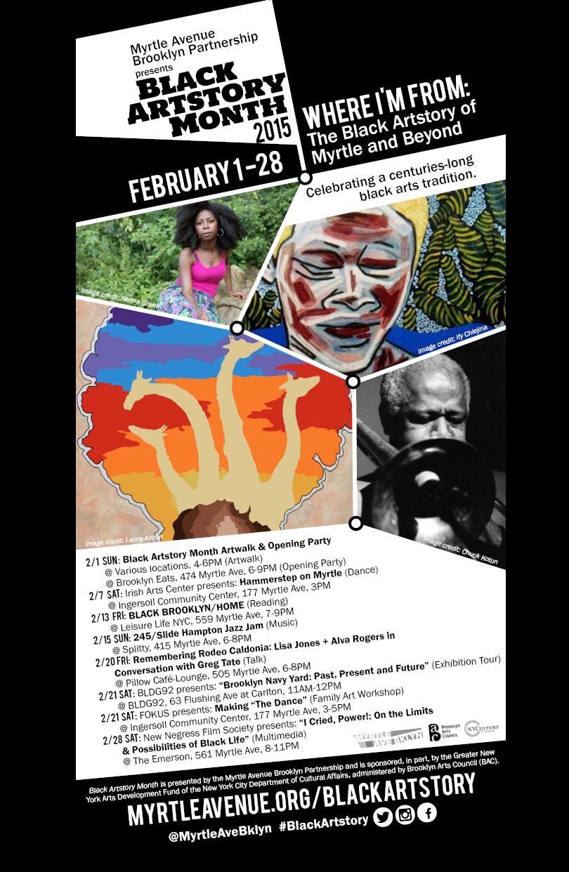 Black Artstory Web-Poster