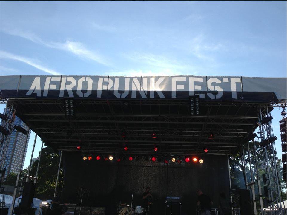 Afro Punk Festival in Brooklyn 2014