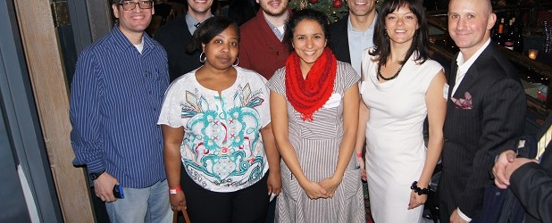 From left to right (top) to bottom): Raome Quinones, Dan De Soto, Chad Purkey, Michael Blaise Backer, Jennifer Stokes, Rebeca Ramirez, Meredith Phillips Almeida