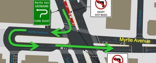 Myrtle and Flatbush Intersection Improvements