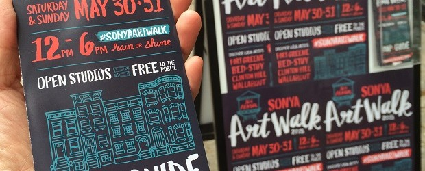 SONYA Artwalk Map