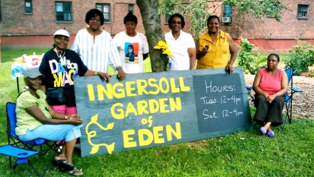Ingersoll Garden of Eden Gardeners circa 2009