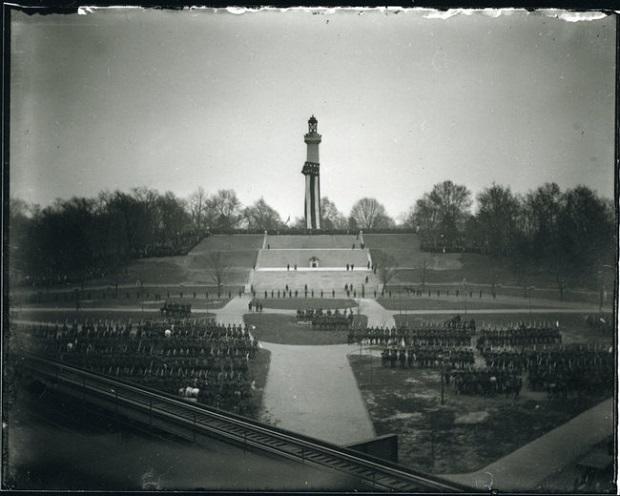Prison Ship Martyrs' Monument unveiling, November 14, 1908.