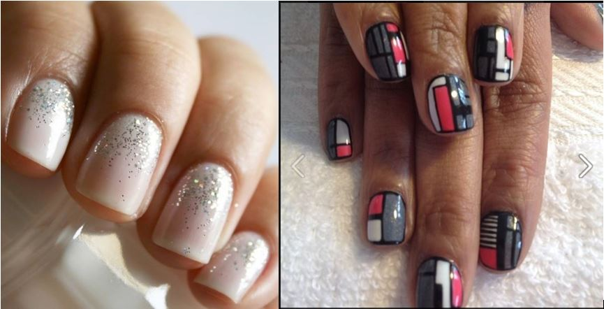holiday nails for blog too
