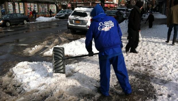 Doe Fund Snow Removal