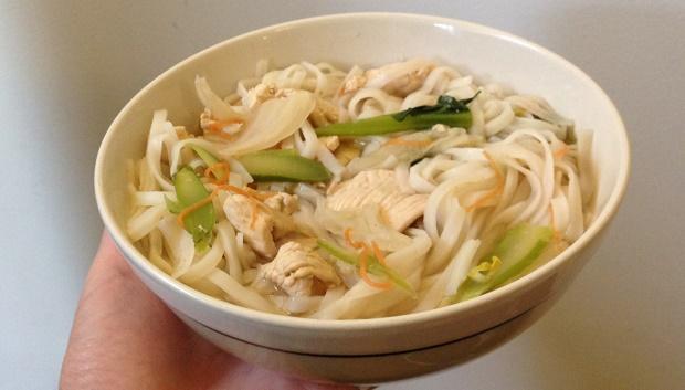 Myrtle Thai noodle soup