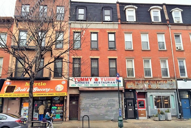 413 Myrtle Avenue, formerly home to Yummy Yummy, will soon house a new Mexican restaurant.